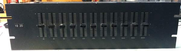 Vintage SAE Stereo Graphic EQ Pair
