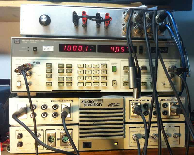 audio test equipment