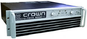Crown power amplifier